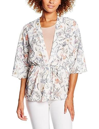 New Look Pearl Botanical Kimono, Blusa para Mujer