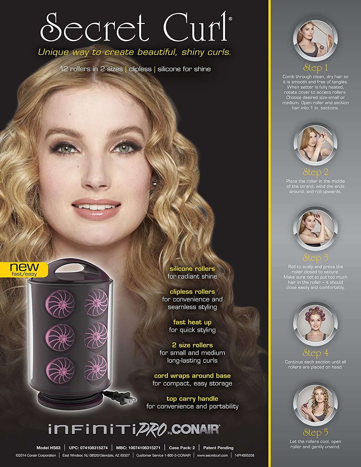 Heated hair rollers: customer reviews. Therming hair Remington: reviews 92