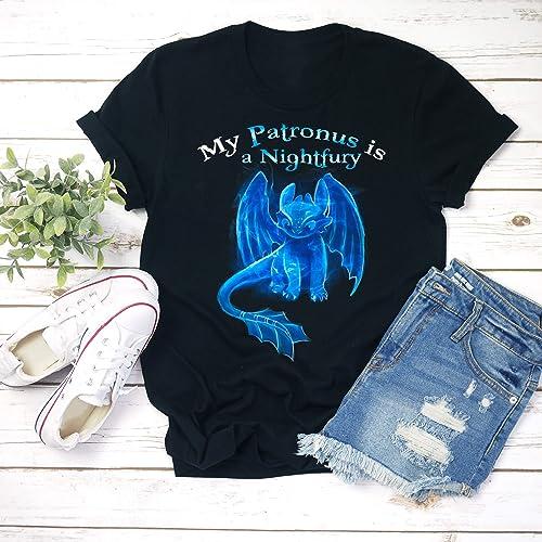 My Patronus Is A Night Fury Toothless Shirt Dragon Unisex T
