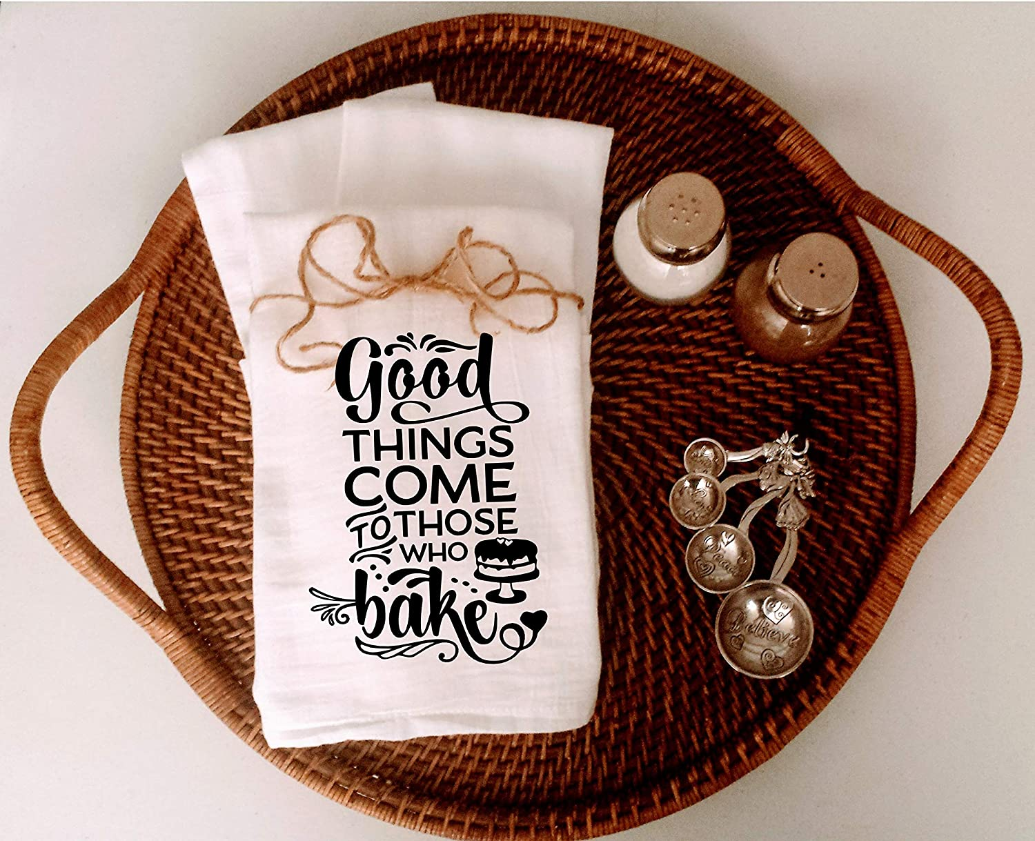 All Good Things Come to Those Who Bake Tea Towel