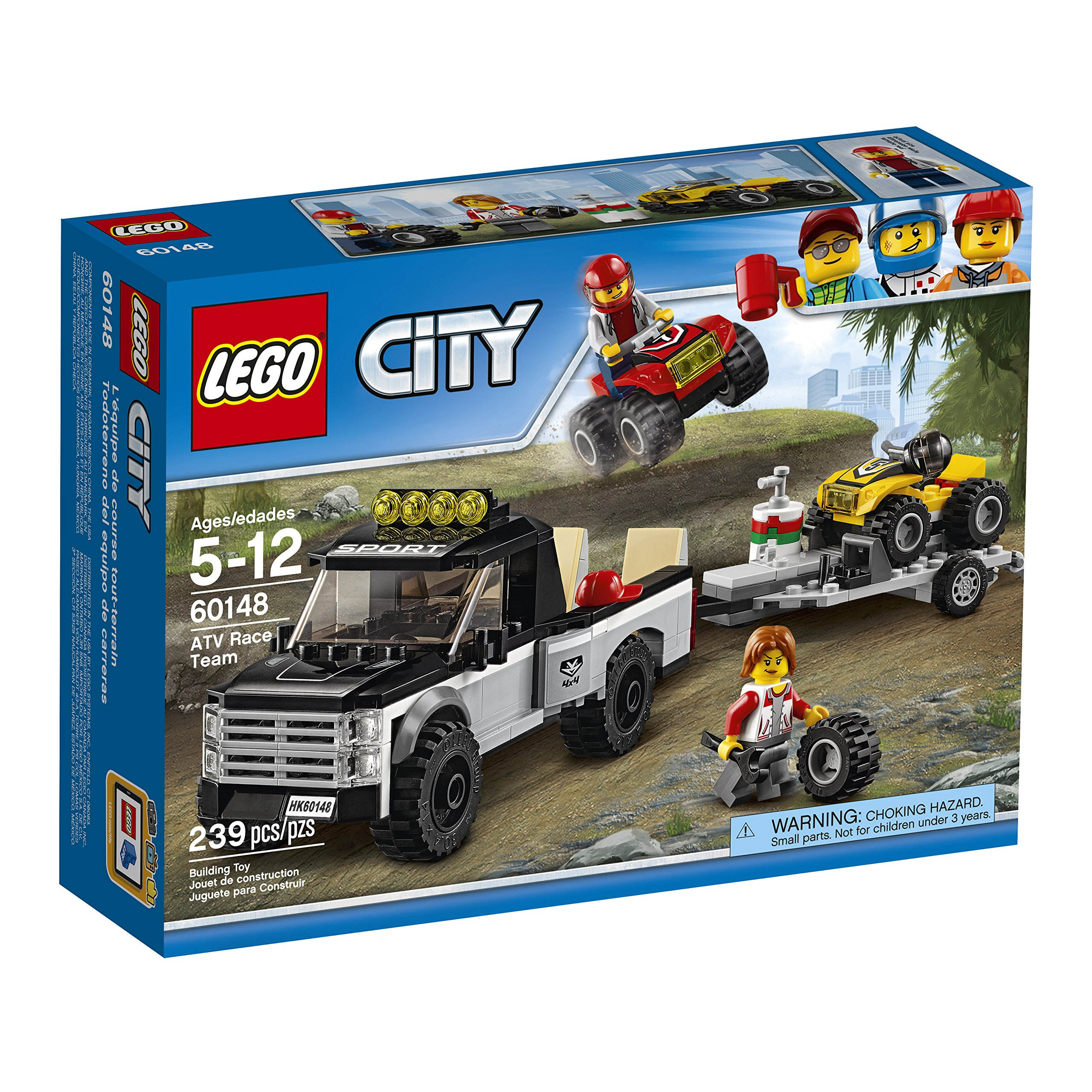 LEGO City ATV Race Team 60148 Best Toy