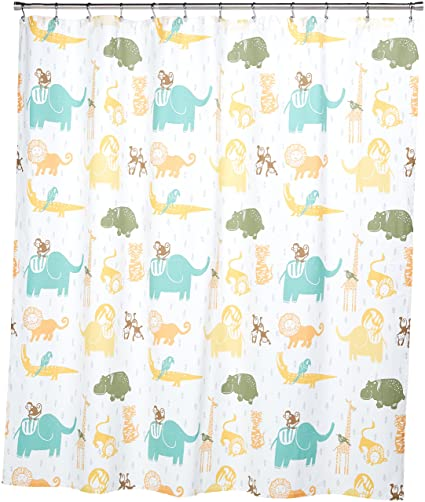 Amazon INK IVY Kids Jacala Shower Curtain 72x72 Multi Home