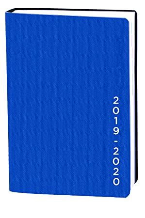 Agenda Escolar 1 Día/Página 2019-2020 Galaxy, A6/10x15cm, color Azul