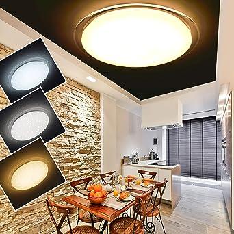60W LED Deckenleuchte Starlight Deckenlampe FarbwechselEffekt Flur Wohnzimmer