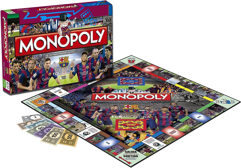 F.C. Barcelona - Monopoly, edición en inglés (Eleven Force 82769): Amazon.es: Juguetes y juegos