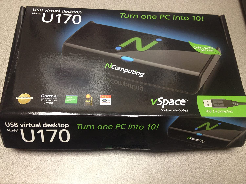 NComputing U170 USB-connected Virtual Desktop Kit