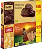 Unibic Scotch Finger, 100g with Free Choco Kiss, 60g.
