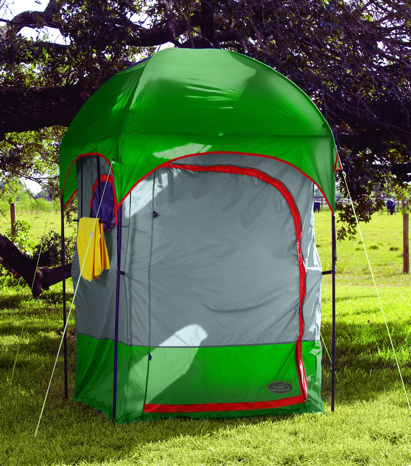 Texsport Instant Portable Outdoor Camping Shower Privacy Shelter Changing Room : Portable Camping Shower Gear : Sports & Outdoors