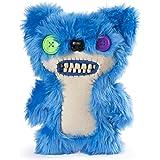 "Spin Master Fuggler Funny Ugly Monster Deluxe Stuffed Animal Medium 9"" Plush (Teddy Bear Nightmare, Blue Fluffy)"