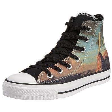 d49b0638b43a Converse All Star Canvas Bandana Print Hi Black White 105768 3 UK   Amazon.co.uk  Shoes   Bags