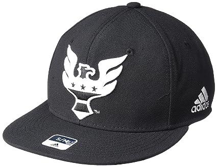 7fb69f4a7a1 Amazon.com   adidas MLS Mens Sp17 Fan Wear Oversized Logo Fvf Cap ...