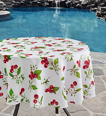 amazon com benson mills indoor outdoor spillproof tablecloth for rh amazon com
