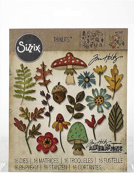 Multicolore Sizzix Fustella Taglia Unica
