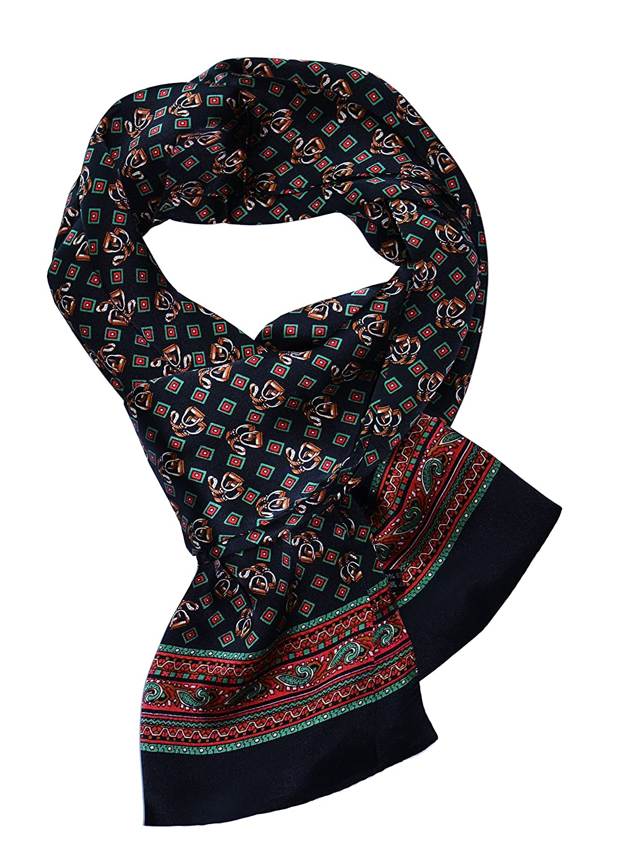 YSSP, 63 x 11 Man's 100 Pure silk scarf wrap Accessory neckwear gift