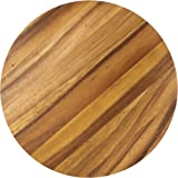 Ironwood Gourmet 28445 Multi-Use Circle Serving Board, Acacia Wood