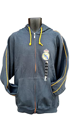 Real Madrid fútbol cremallera frontal chaqueta de forro ...