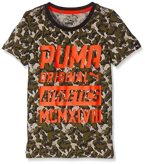 Puma maglia da bambini Style Graphic NUOVO