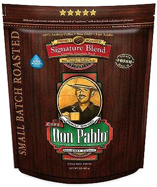 2LB Cafe Don Pablo DPSB02LB Gourmet Coffee Signature Blend