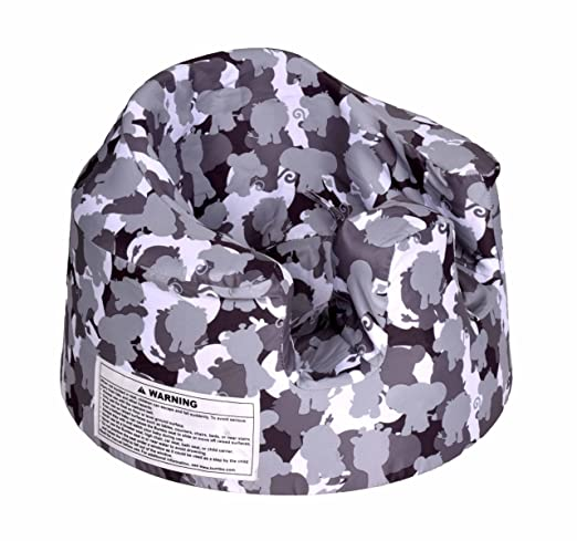 Amazon.com : Bumbo Baby Support Floor Seat Cover - Grey Camouflage ...