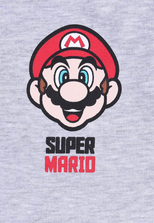 Pantalones de chándal de Color Gris Super Mario: Amazon.es: Ropa y ...