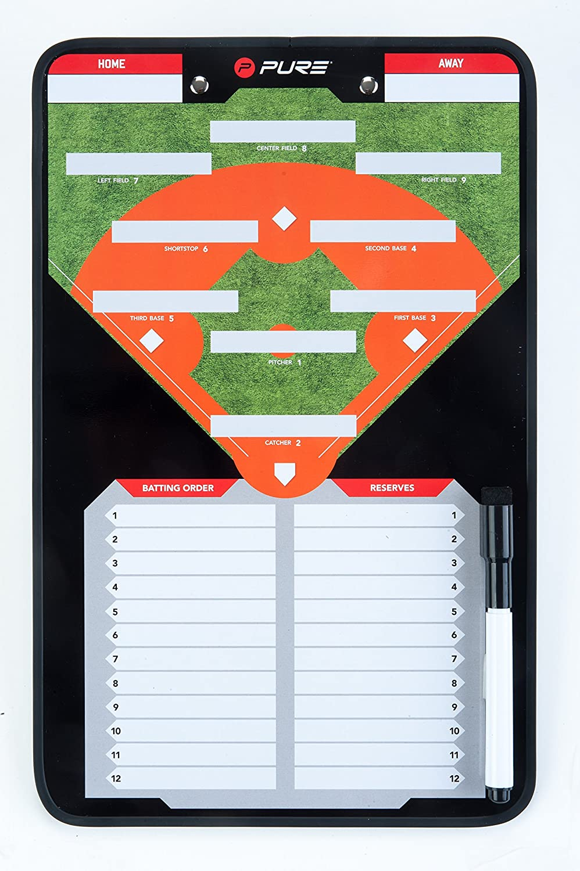 Pure2Improve Baseball Taktiktafel | Variabel & Flexibel