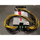 "2X Bitmain Antminer S7 S9 IBM 2880W 24"" Cable PSU Power Supply Kit 208V+ Bitcoin"