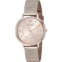 Emporio Armani Women's AR11129 Analog Quartz Pink Watch