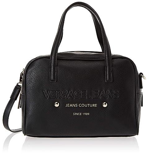 9492544201 Versace Jeans Ee1vsbbs5, Borsa a Tracolla Donna, Nero, 14x21.5x29 cm ...