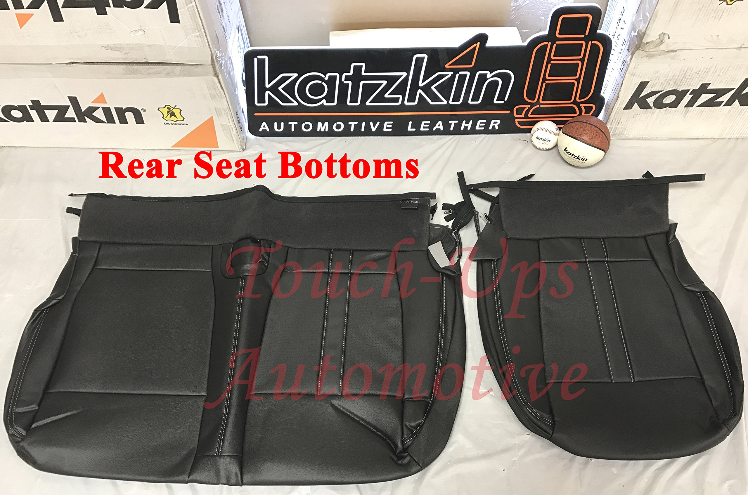 Driver Bottom PERFORATED Leather Seat Cover TAN 2016 Ford F250 F350 Lariat Crew