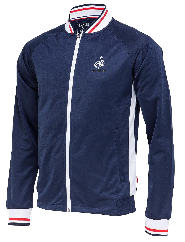 Equipe de FRANCE de football Veste zipp/ée FFF Collection Officielle Taille Homme