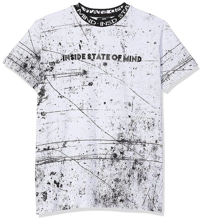 Inside 7CCN54 Camiseta Blanco 90, X-Small (Tamaño del Fabricante ...
