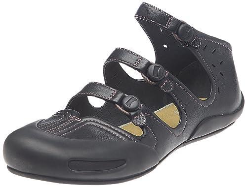 Camper Senda 21548 21548-002 - Zapatillas de Cuero para Mujer, Color Negro, Talla 37: Amazon.es: Zapatos y complementos