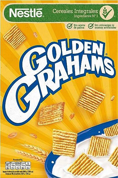Golden Grahams Cereales de maz y trigo tostados - 420 gr - , Pack de 6: Amazon.es: Alimentación y bebidas