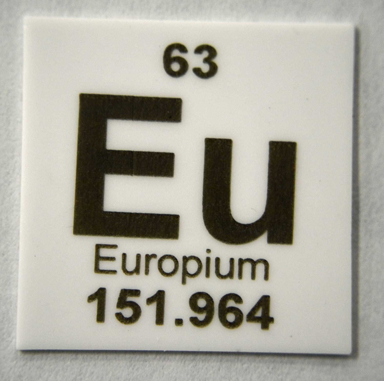 Amazon Europium 1 X 1 Elemental Ceramic Column Scoring Wafer