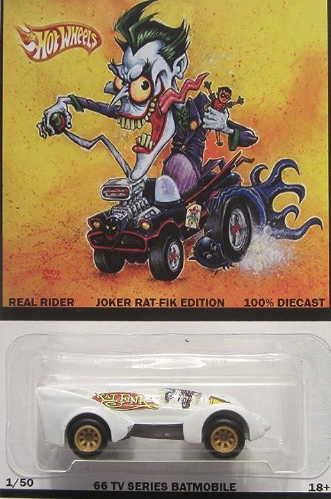 Hot Wheels Custom Batman Live Batmobile Joker Rat