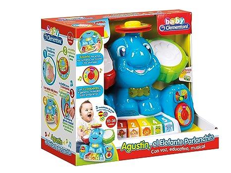 Baby Clementoni - Agustin, el Elefante parlanchín (55165.1 ...