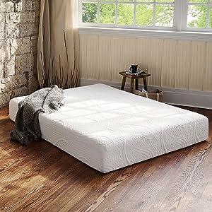 Night Therapy Memory Foam 8 Inch Therapeutic Comfort Mattress, Twin XL