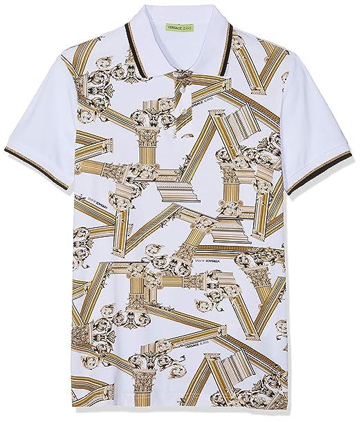 Jeans itAbbigliamento Shirt Versace UomoAmazon Man T Polo l3KTFu1Jc