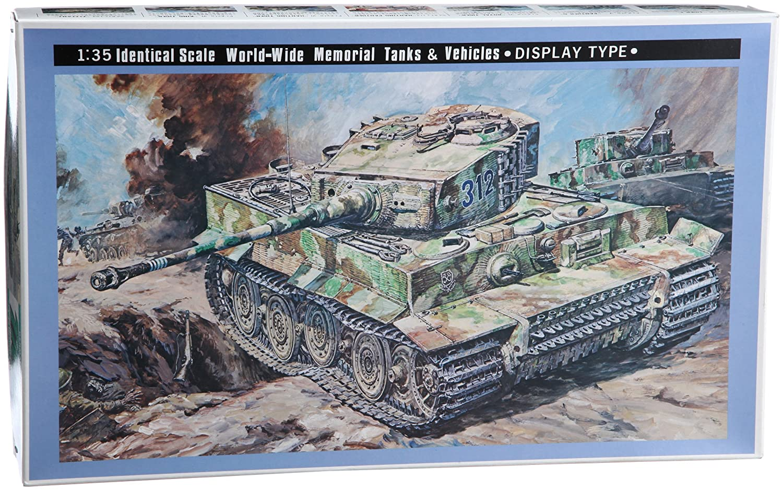 ニチモ 1/35 ディスプレイ タイガー1型 B002BDT6E0
