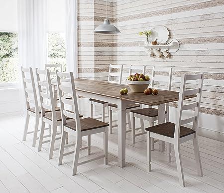 mesa comedor 180 cm no extensible 8 sillas