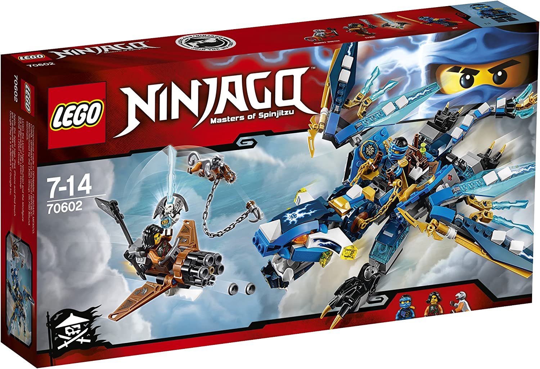 LEGO 2016 New Ninjago 70602 Jay's Elemental Dragon - 350pcs Building Kit