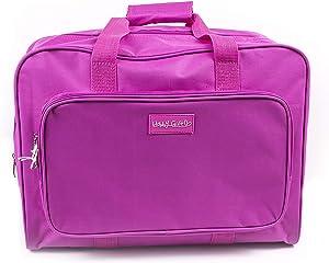 Hobby Gift - Bolsa de transporte para máquina de coser, Rosa, 20 x 47 x 34cm