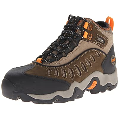 Timberland PRO Men's Mudslinger Mid Waterproof Lace-Up Fashion Sneaker: Shoes