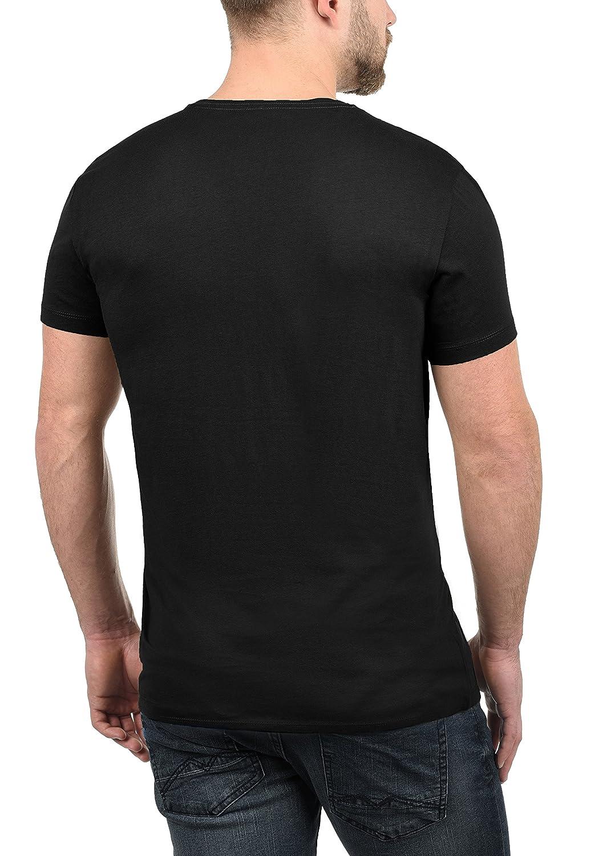 Blend Doppler Herren T-Shirt Kurzarm Shirt Mit Print Und Rundhalsausschnitt Aus 100/% Baumwolle