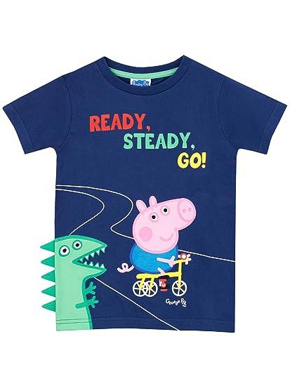 fd7bab440 Peppa Pig Boys George Pig T-Shirt: Amazon.ca: Clothing & Accessories