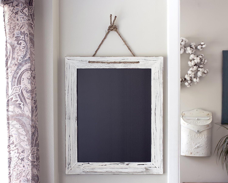 B016FNCEXQ White Shabby Chic Chalk Marker Board 20x24 91cI1aZnG4L._SL1500_
