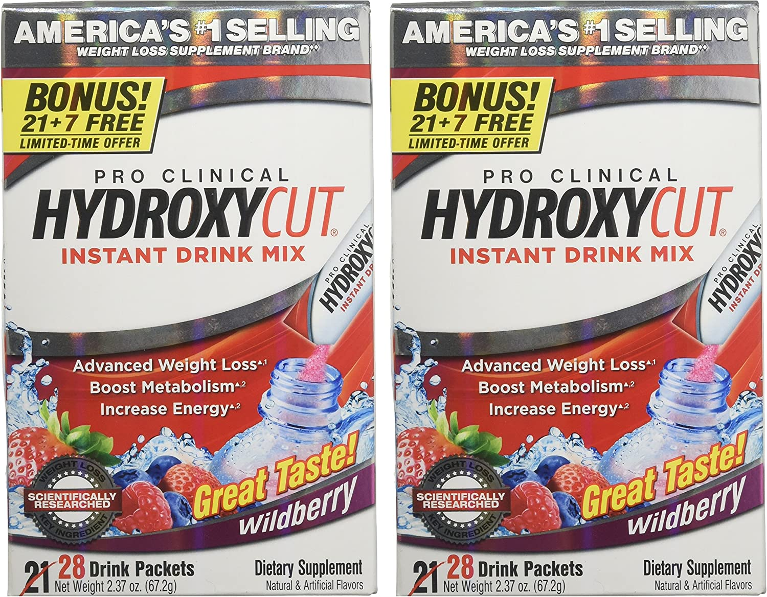 Hydroxycut Drink Mix, Scientifically Tested Weight Loss ...