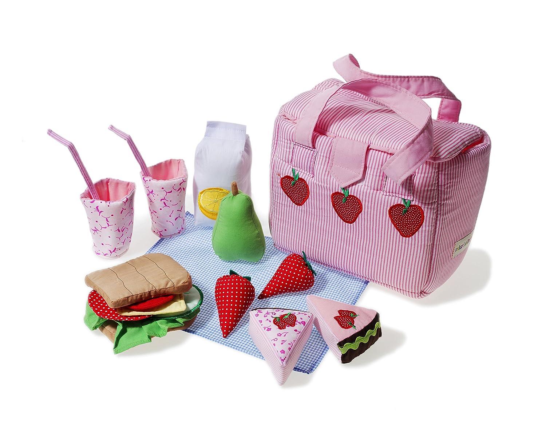 Oskar y Ellen tela bolso más fresco y comida de juguete: Amazon.es: Juguetes y juegos