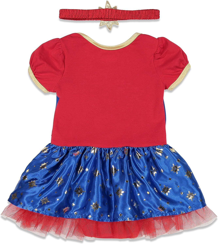 Amazon Com Captain Marvel Girls Short Sleeve Costume Dress Headband Superhero Cosplay Clothing Target/holiday shop/toddler marvel costume (2901). captain marvel girls short sleeve costume dress headband superhero cosplay