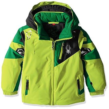 75d584099f Amazon.com  Spyder Boys Mini Leader Jacket  Sports   Outdoors